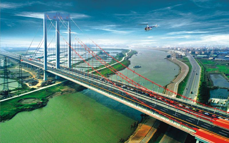 平胜大桥 桥面修补